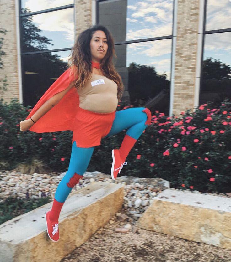 Nacho libre costume girl diy funny Halloween