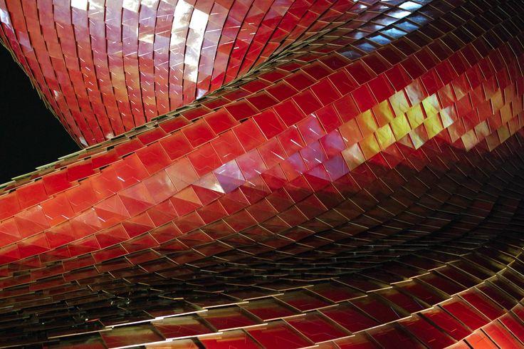 Il drago in gres Photographer: Elena Perlotti - 2015 #expo #libeskind #architettura