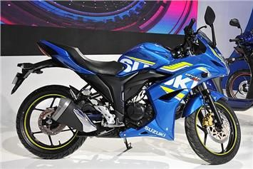 Suzuki Gixxer SF-Fi launched at Rs 93,499