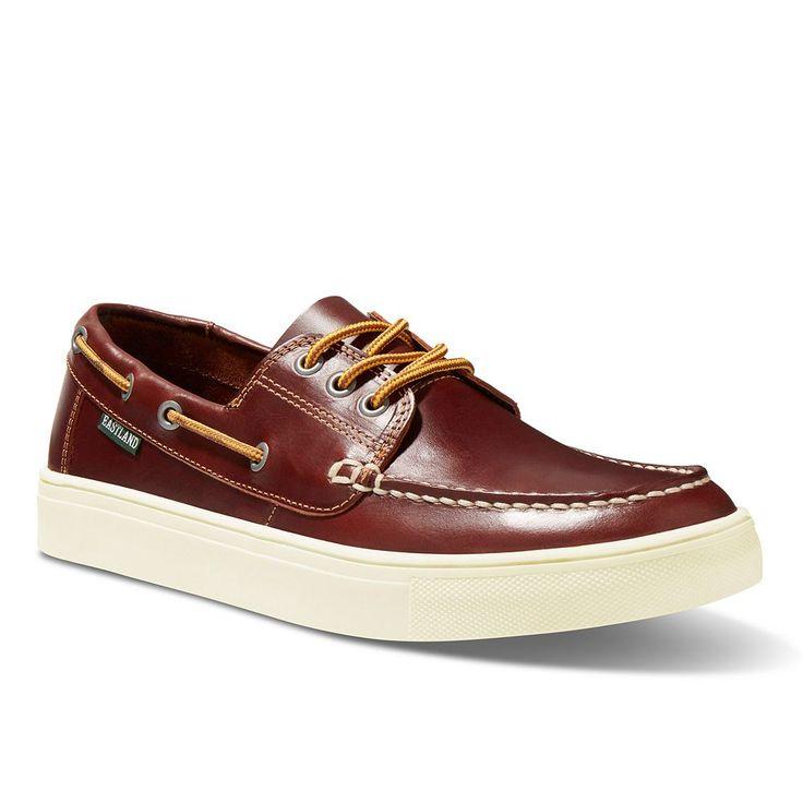 Eastland Captain Men's Boat Shoes, Size: medium (10.5), Brown Oth