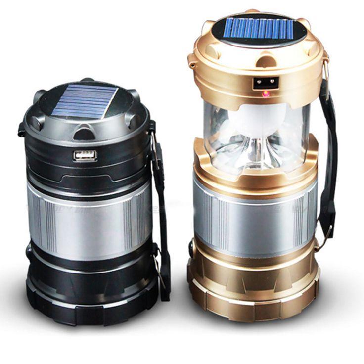 Solar Camping Lantern with USB PowerBank Great for Hiking Trekking - Best Camp Light - Best Solar Lamp - Best Emergency Light