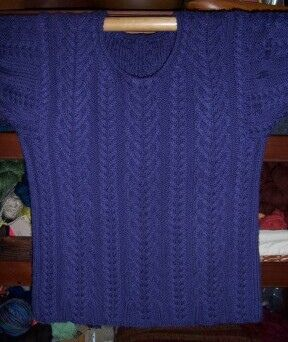 Ravelry: Age of Aquarius Sweater pattern by Kathy Zimmerman and Lisa Carnahan