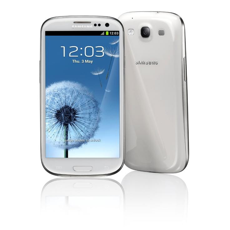 Smartphone Samsung I9300 Galaxy S III Azul GSM Touchscream Android 4.0 3G Wi-Fi GPS Câmera 8MP MP3 Bluetooth Memória Interna 16Gb Fone de Ouvido.