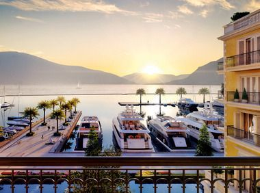 Five-star pampering at the Regent Porto Montenegro Hotel is just one reason to hit the shore