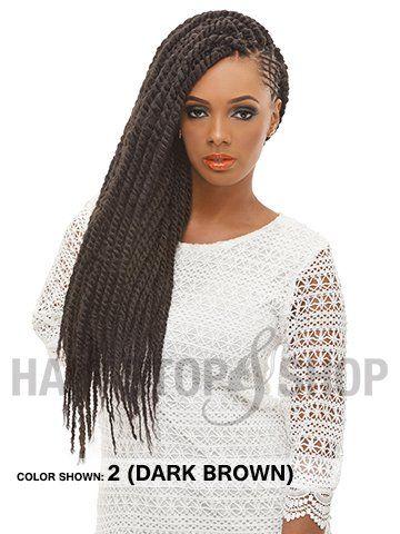 Janet Collection Noir Afro Twist Braid