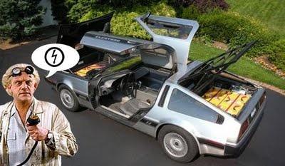 DeLorean eléctrico