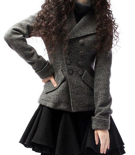 Short Wool Coats