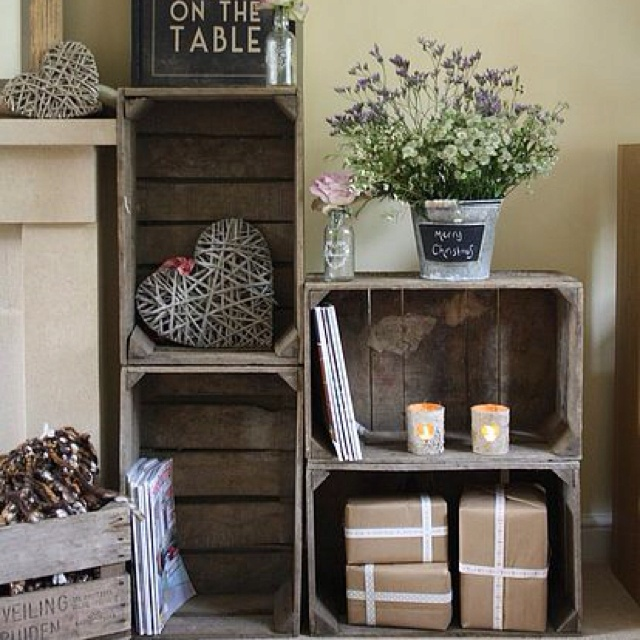 This is what I want to do for a shoe rack by the front door
