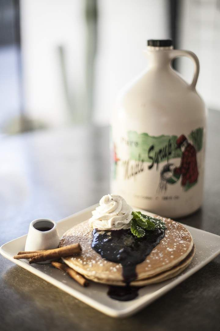 7. Get brunch that rivals anything in LA The right-Downtown, chef-driven restaurant Workshop Kitchen & Bar started a dining renaissance in Palm Springs, but honestly the best meal there is brunch, where you can get down on blue crab eggs Benedict or duck egg huevos rancheros, or, um, BOTH.
