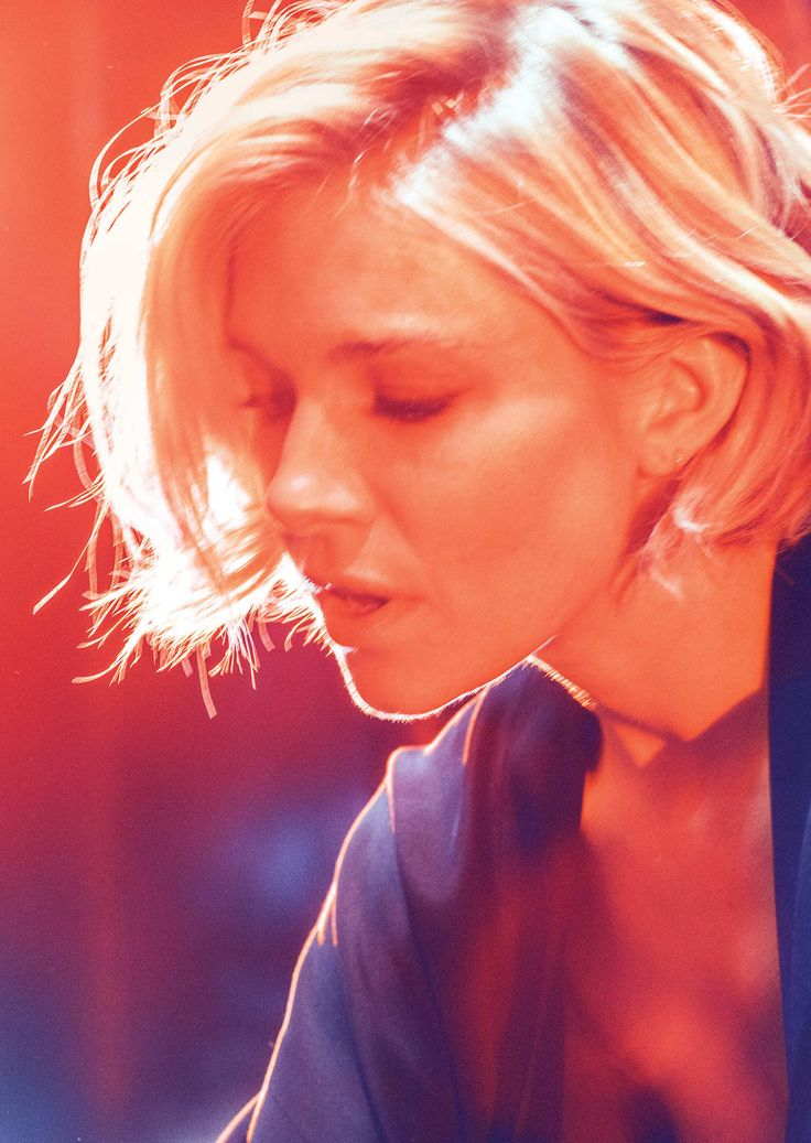 Sienna Miller, about to come to Broadway in Cabaret. Photo by Christopher Anderson