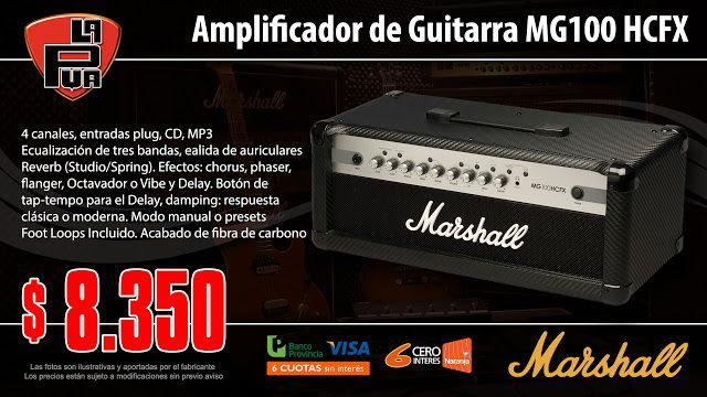 La Púa San Miguel: Amplificador de Guitarra MARSHALL MG100 HCFX 100w ...