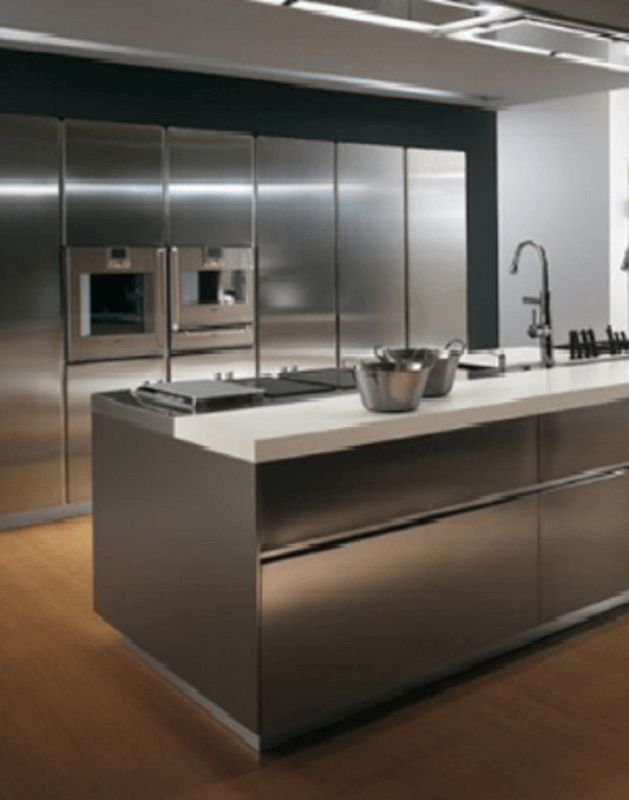 Best 25 Metal Kitchen Cabinets Ideas On Pinterest Stainless Steel Kitchen Cabinets Stainless