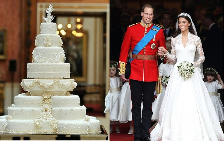 Fakta Menarik Kue Pengantin Kate Middleton dan William