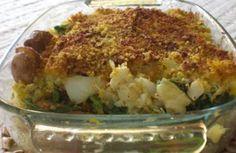 Bacalhau lascado com broa e grelos | Receitas Rápidas, Fáceis & Saudáveis