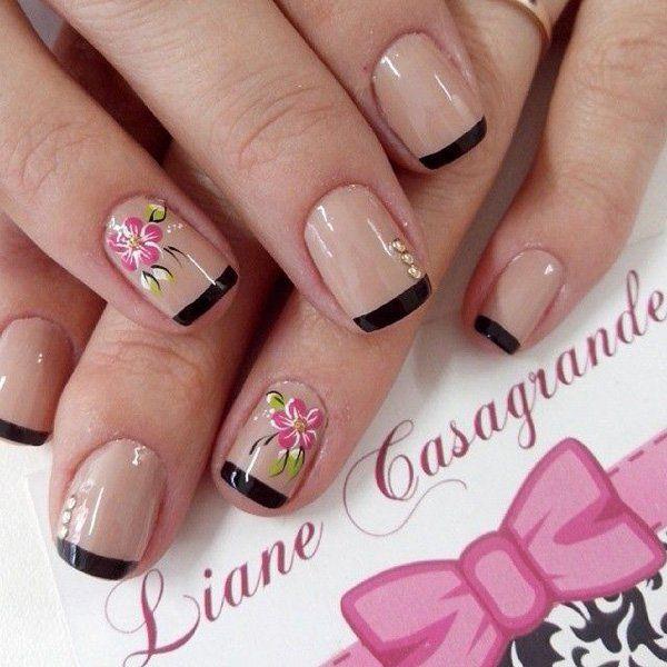 clavo de la flor - 50 Flor Diseños Nail Art | Arte y Diseño