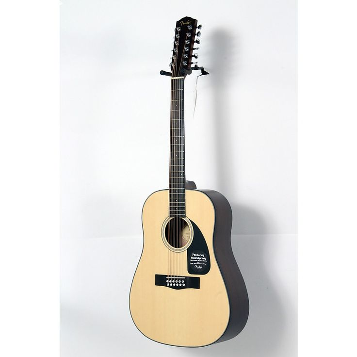 Fender Classic Design Series CD-100-12 Dreadnought 12-String Acoustic Guitar Natural 190839012876