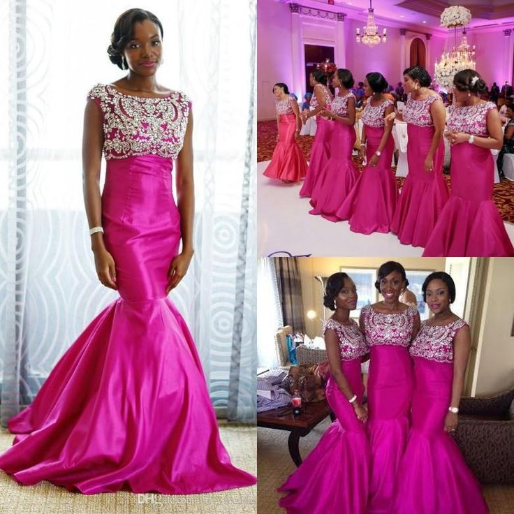 178 best bridesmaid dresses images on pinterest maid of for Fuschia wedding dresses