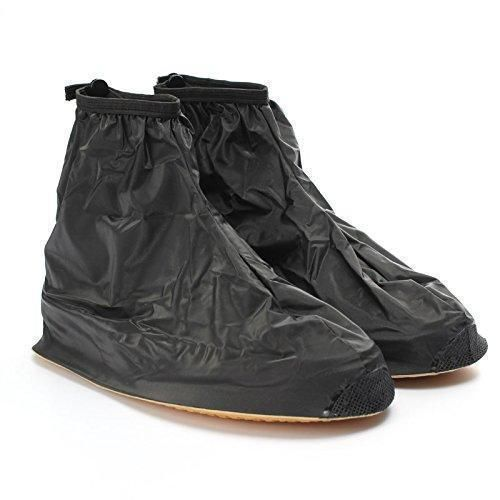 Oferta: 11.65€. Comprar Ofertas de Buwico 1Pair alta calidad impermeable Zapatos Botas de lluvia para hombre piso antideslizante cubrezapatillas engranaje de la barato. ¡Mira las ofertas!