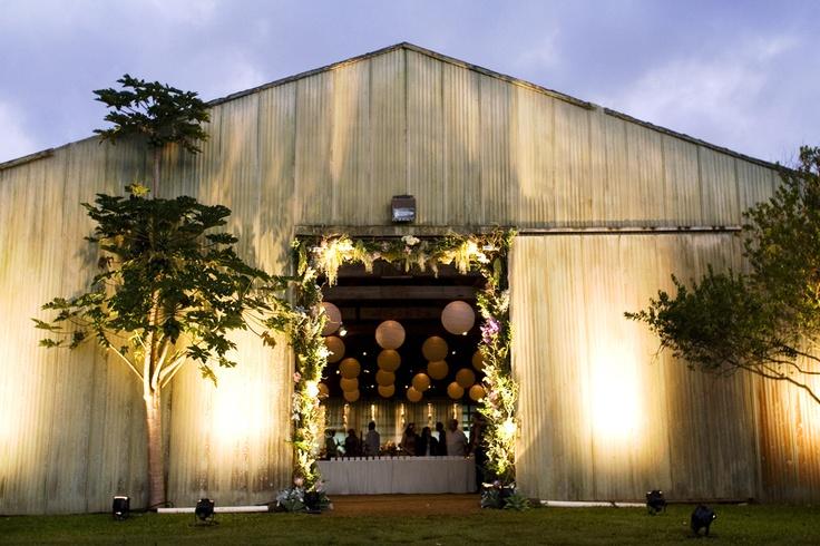 sunset ranch wedding reception