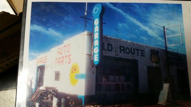 I have on ebay this 14' neon GARAGE sign from Route 66 in San Jon , NM
