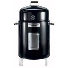 Brinkmann's bullet-shaped charcoal smokers are a popular and affordable choice.                                                                                                                                                     More