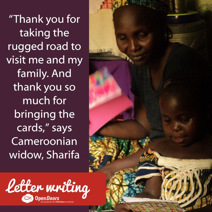 Meet more persecuted believers like Sharifa whom you can encourage and strengthen today with a prayer and letter of encouragement