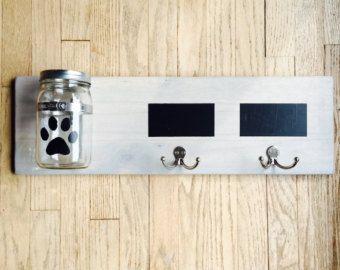 HOND kunst aangepaste hond leiband houder haak voor door bonnielecat