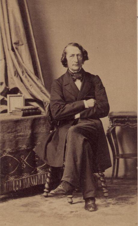 André Adolphe Eugène Disdéri  - Bernard Dunker portrait