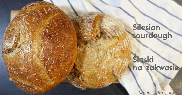Silesian sourdough. Chleb śląski na zakwasie
