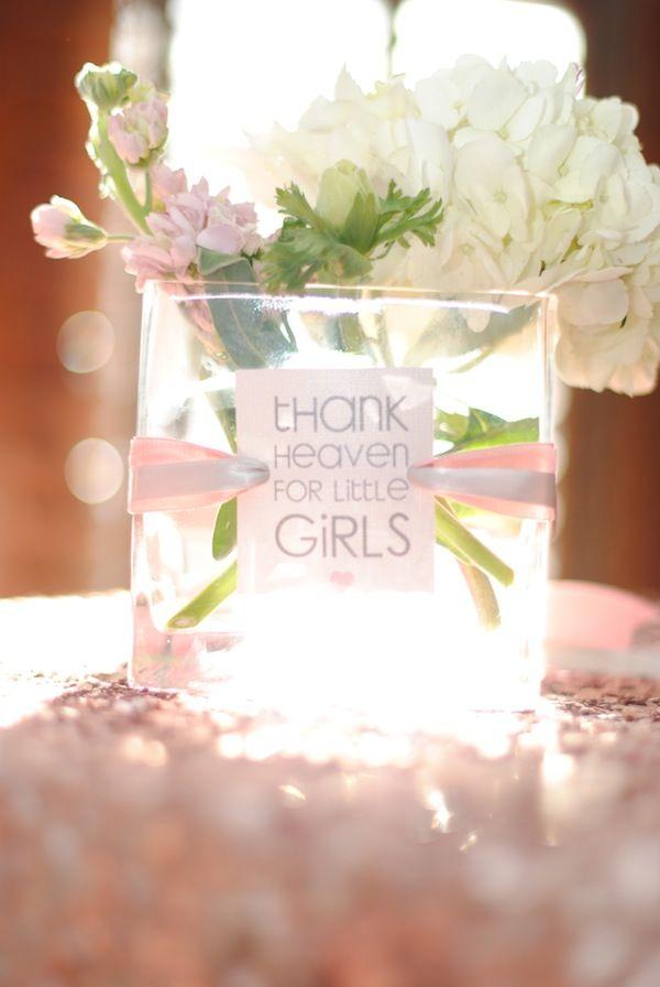 Thank Heavens for little girls