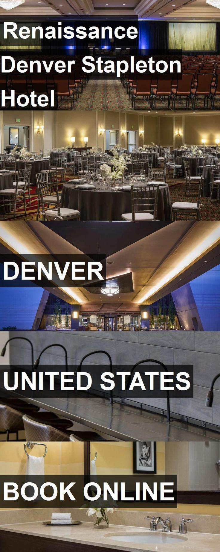 Renaissance Denver Stapleton Hotel in Denver, United States. For more information, photos, reviews and best prices please follow the link. #UnitedStates #Denver #travel #vacation #hotel