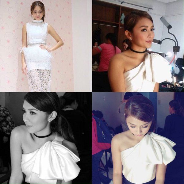 Kathryn Bernardo's OOTN! at the ABS CBN Christmas Special!