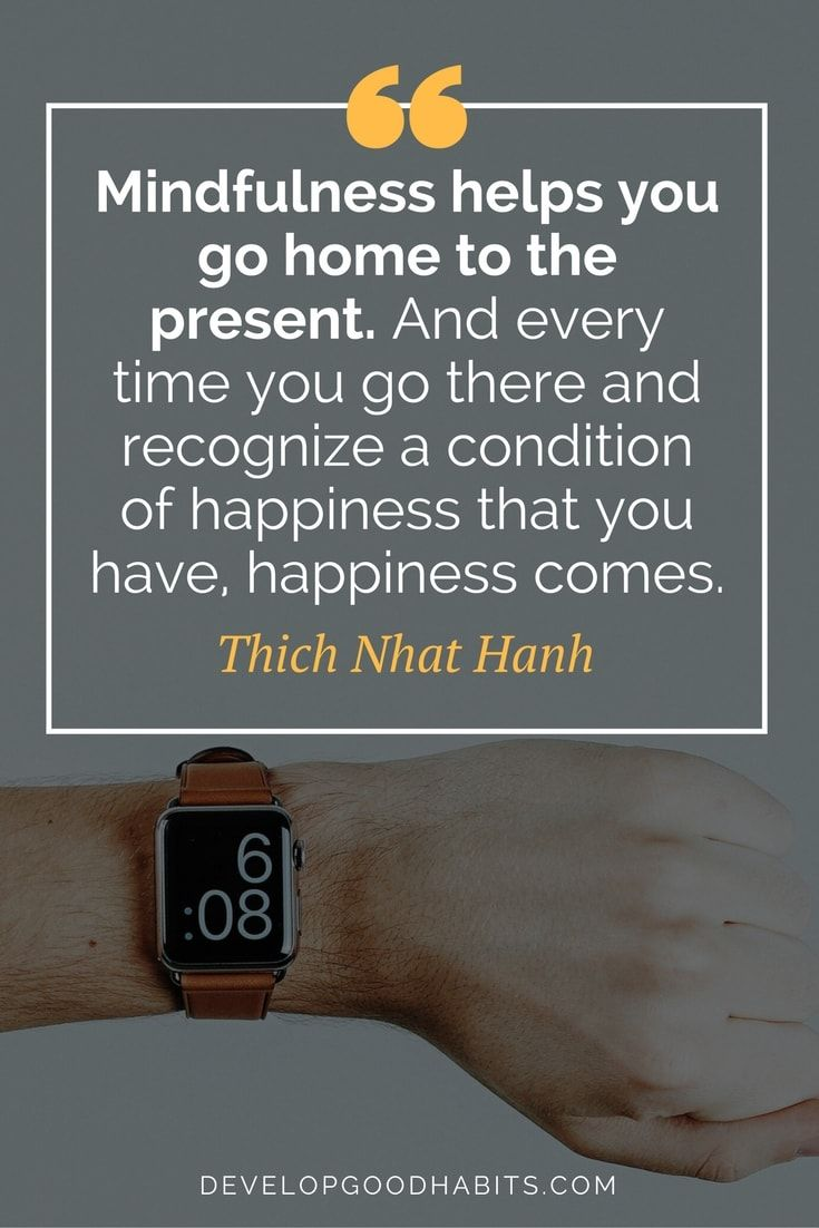 Thich Nhat Hanh Quotes about Mindfulness | Happiness