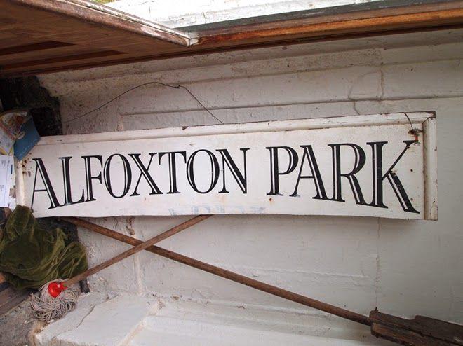 Alfoxton Park Hotel sign
