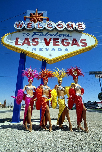 Las Vegas by Michael P. Whelan, via Flickr The iconic Las Vegas Welcome sign, which has become well known around the World.