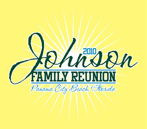 johnson family reunion t shirt by marshall atkinson via behance - Family Reunion T Shirt Design Ideas