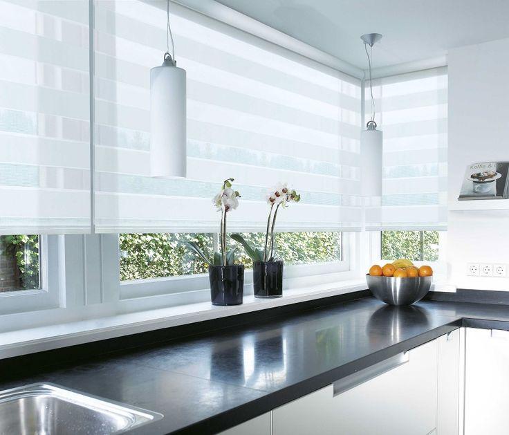 The Zoo Covering Kitchen Windows: Rolgordijnen In 2019 - Kitchen Window Blinds, Kitchen Window