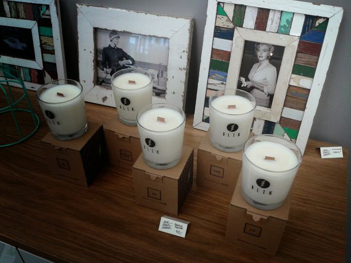 Soy candles by BLIK