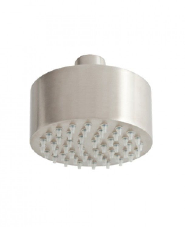 Amox compact shower head brushed stainless steel