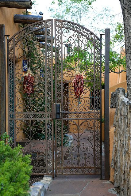 Santa Fe New Mexico Flickr Wrought Iron Pinterest