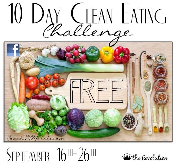 10 Day Clean Eating Challenge: FREE