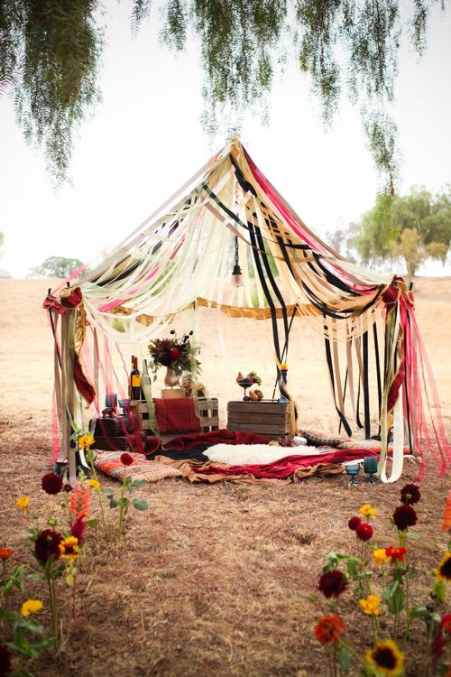 """The Traveling Circus Styled Shoot Ribbon Tent - Vendors: Photographer: Samantha Bonpensiero Photography/Florist/Décor/DIY's: Marry Me Rosie Florist/Stylist: Hope Stanley/Bride's gown: Mary Me Bridal/Groom's suit: Friar Tux/Make up: Alexis Steeley/Model: Tyler McGraw – """"Zero"""" ClownMa dell'Arte/Model: Marlena Mack – """"Mim"""" ClownMa dell'Arte/Model: Jacqui Jarvis/Stationary: Easton Studios"""