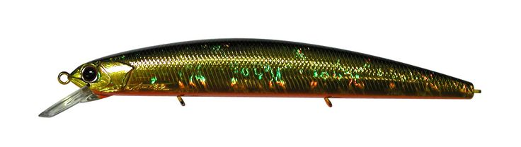 OSP Lure Rudra 130F Crystal Gold