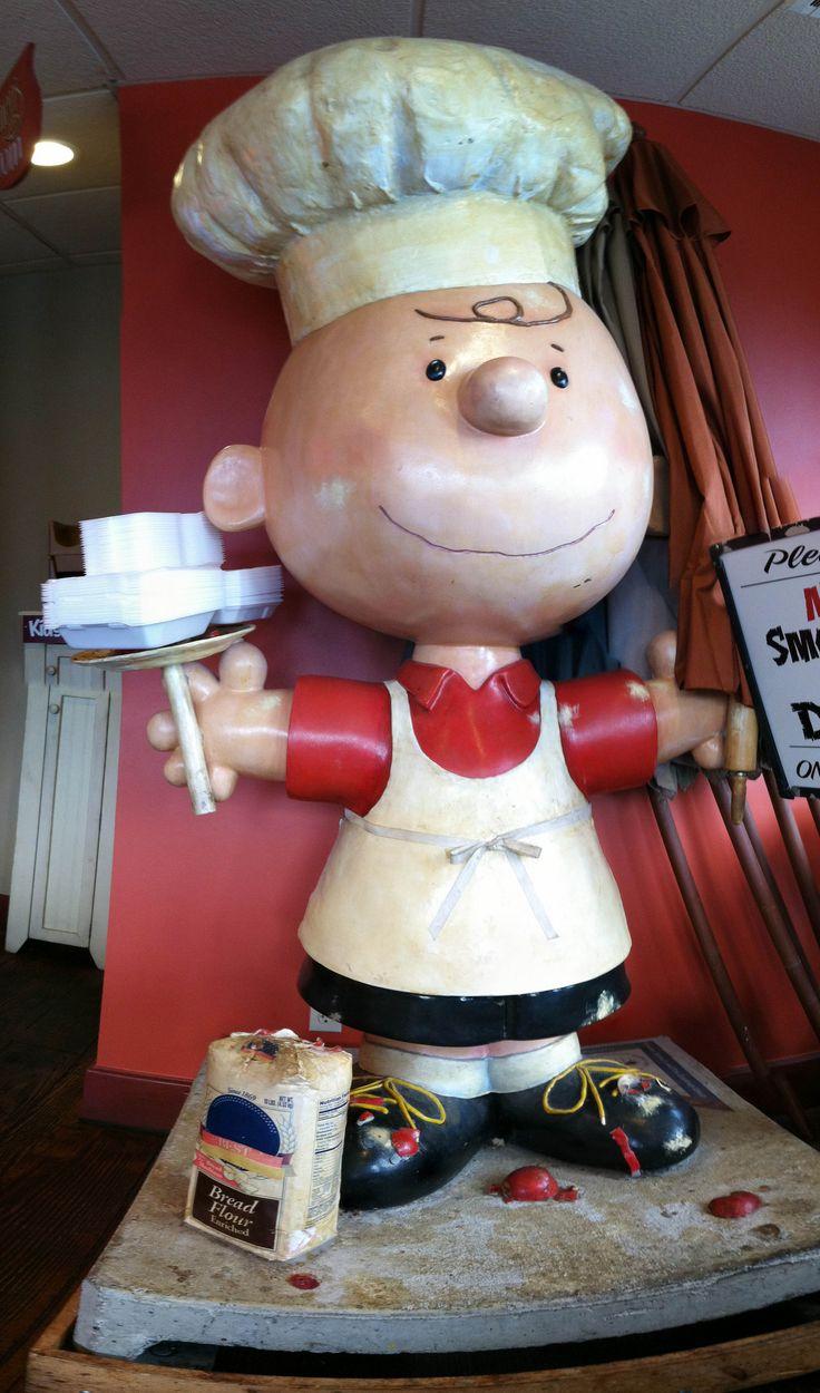 Chef Charlie Brown - photo by yusaku, via Flickr;  in Minnesota