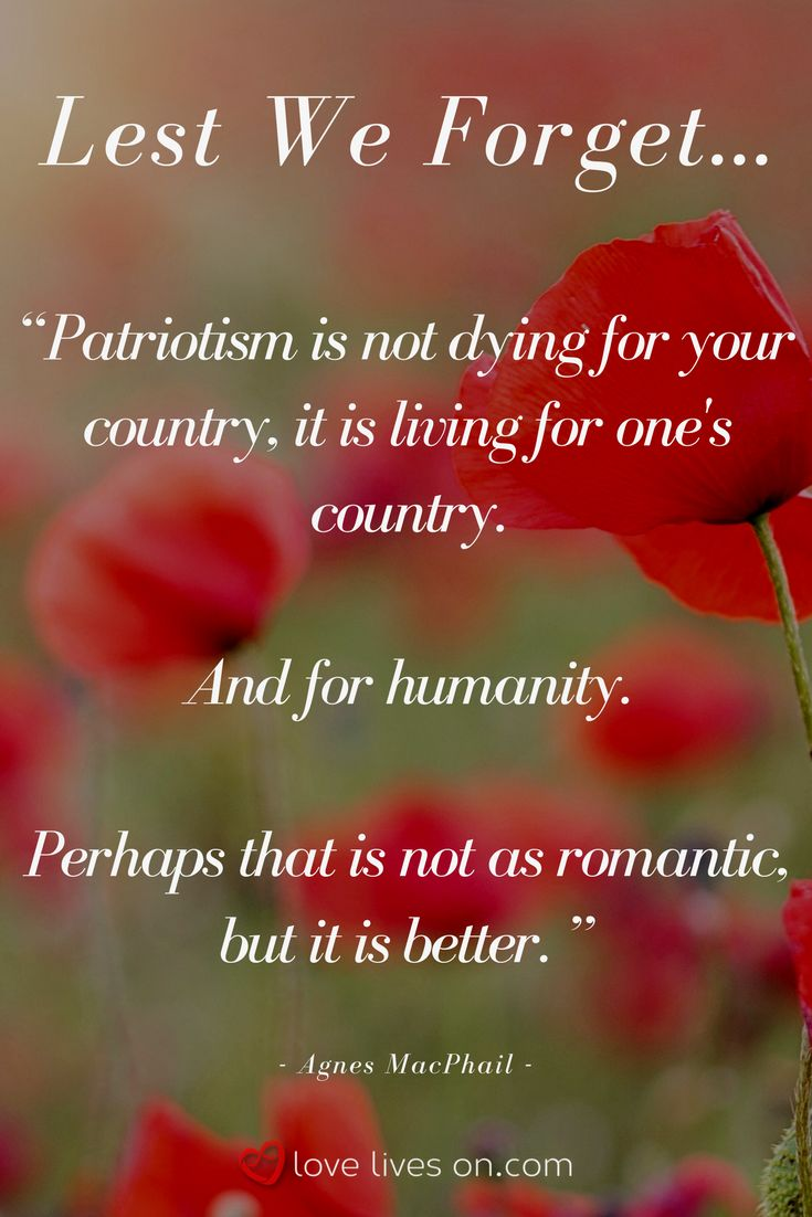 For all those who sacrificed their lives and fought for their country in the name of humanity - and those who continue to do so - today, and every day, we thank you.