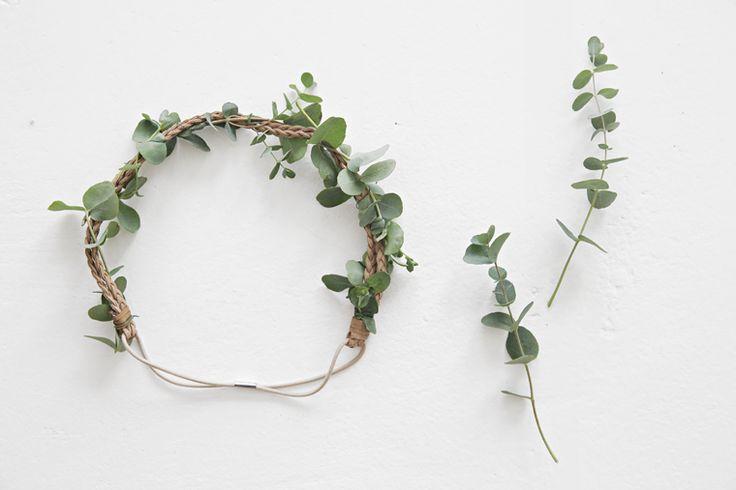Midsummer head wreath in 1-2-3 - Stylizimo