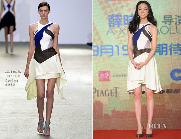 Tang Wei In Antonio Berardi – 'Finding Mr. Right' Press Conference | Red Carpet Fashion Awards