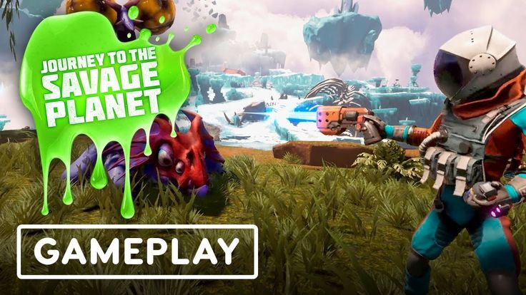 Journey to the Savage Planet Gameplay Showcase – IGN LIVE E3 2019