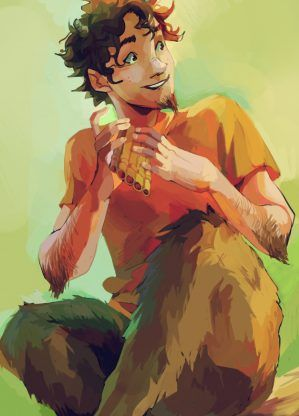 Grover Underwood – Rick Riordan | art by viria