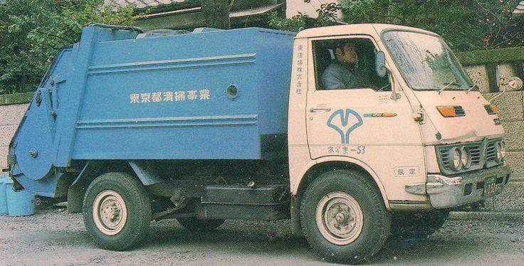 Isuzu Elf TLD22A Garbage
